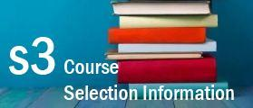 S3 Course Selection Information